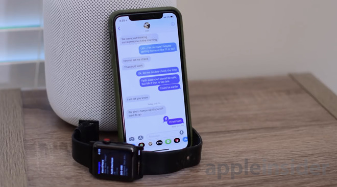 How to send images from the Messages app on the iPhone in iOS 12