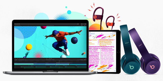 Apple launches Back to School promotion with free Beats