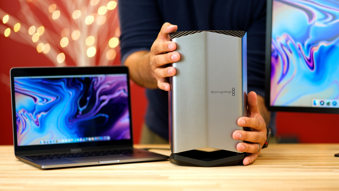 Hands On With The New Apple And Blackmagic Thunderbolt 3 Egpu Appleinsider