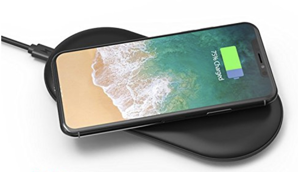 RAVPower iPhone wireless Qi charger