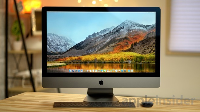 The 2018 six-core MacBook Pro with eGPU gives the iMac Pro a run for