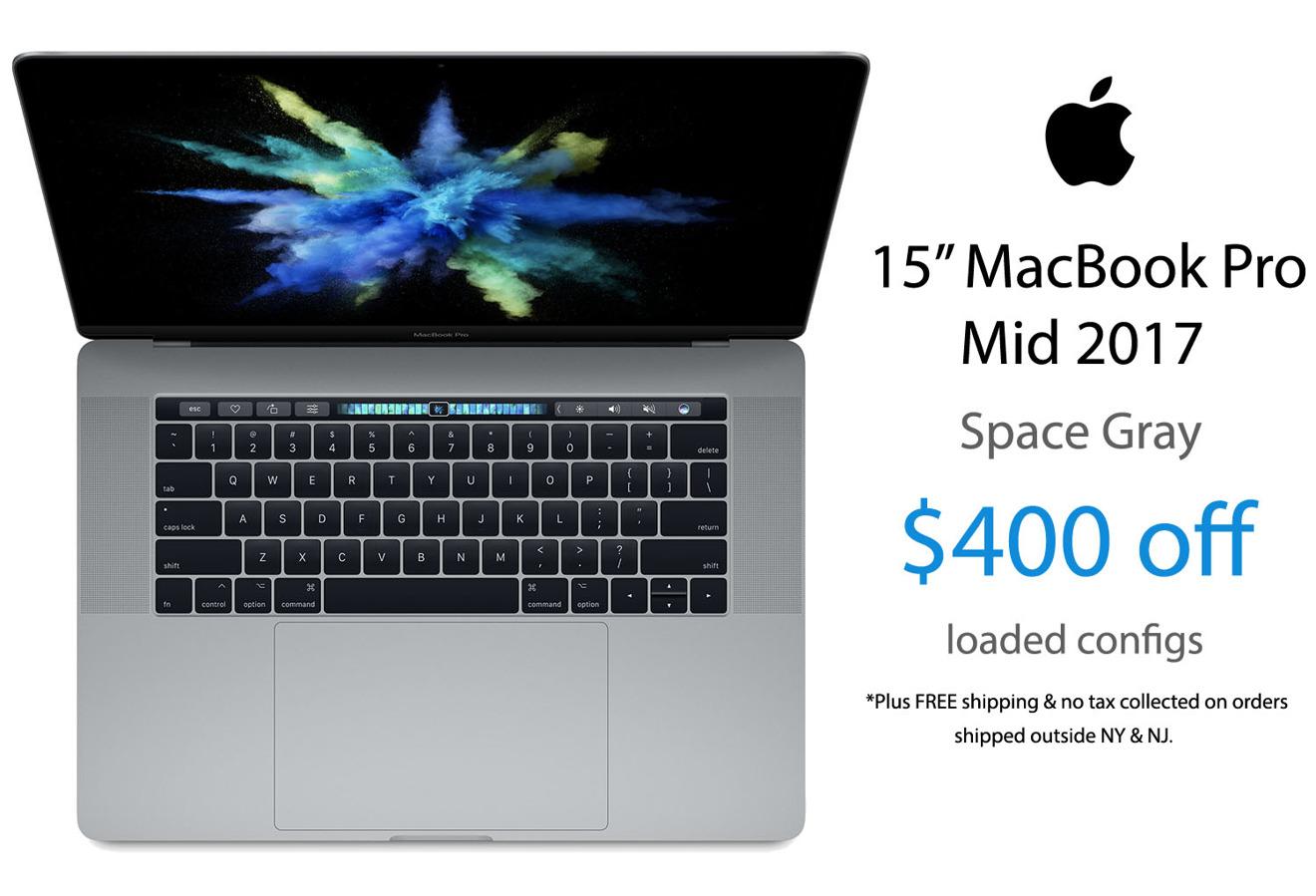 Apple 2017 15 inch MacBook Pro sale