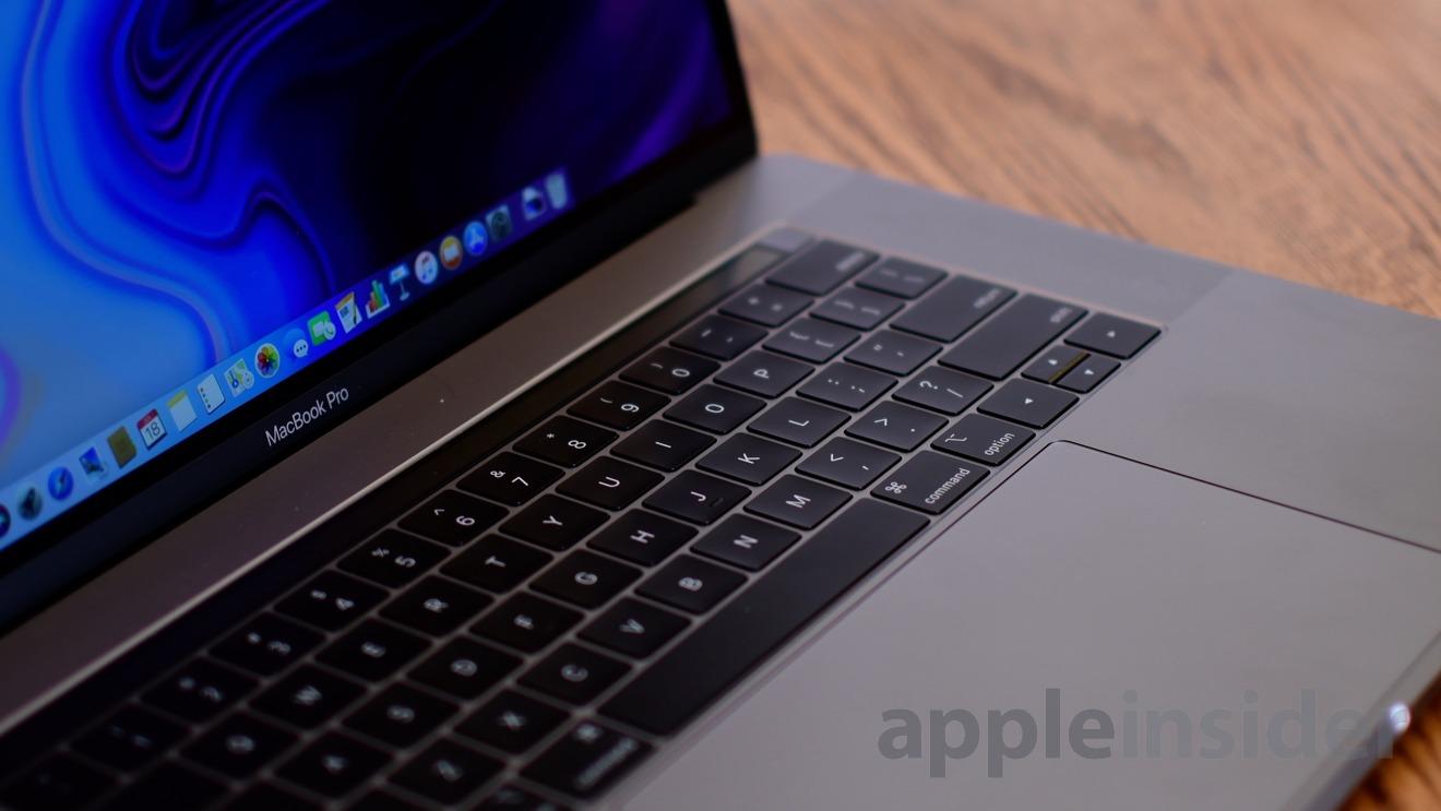 2018 15-inch MacBook Pro Keyboard