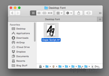 font book 3.0 for mac download