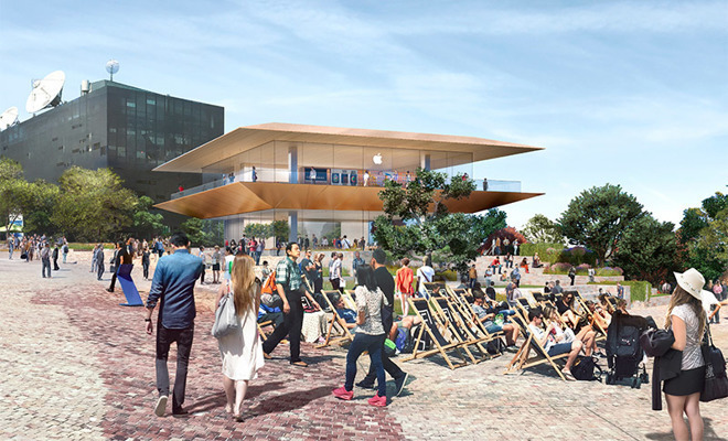 Initial Melbourne Apple Store proposal