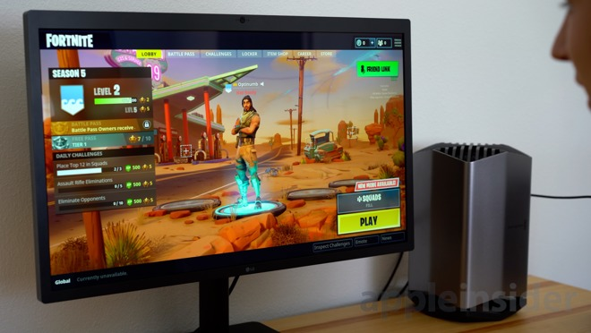 Fortnite at 5K? Testing out the 13-inch MacBook Pro with