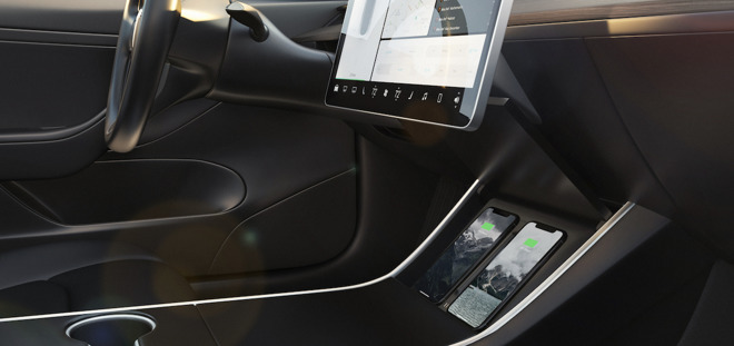 Nomad launches iPhone-optimized wireless charger for Tesla
