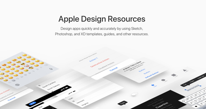Apple releases new Mojave and AppKit design resources for