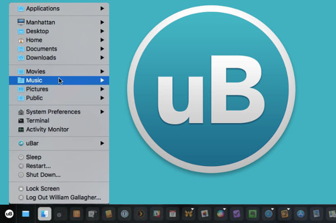 Hands On: uBar for the Mac shrinks your Dock and makes it