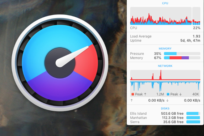 Hands on: Watch the temperatures of your MacBook Pro with iStat Menus 6