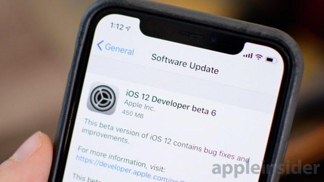 everything new in ios 12 beta 6