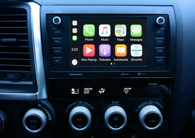 Toyota 2020 Sequoia CarPlay