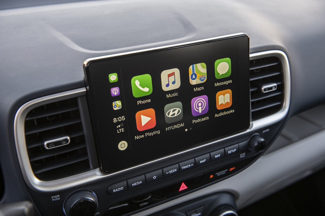 Hyundai Venue CarPlay