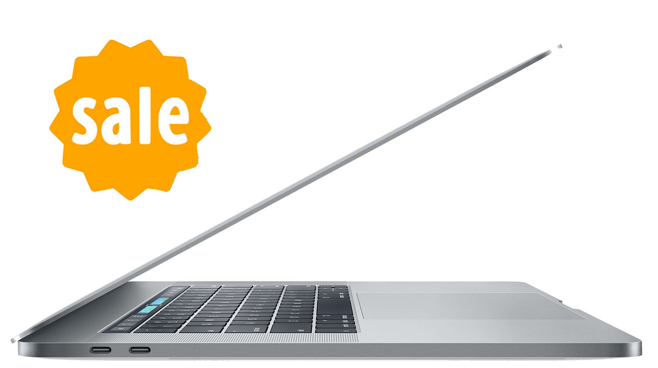 Apple 2017 15 inch MacBook Pro with Touch Bar clearance savings