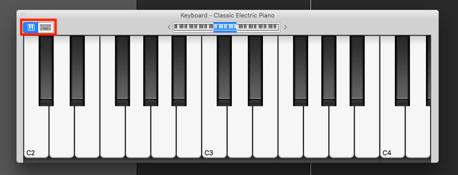 How To Play Music Using Your Macs Keyboard With Garagebands