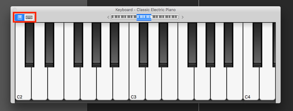Garageband piano sounds