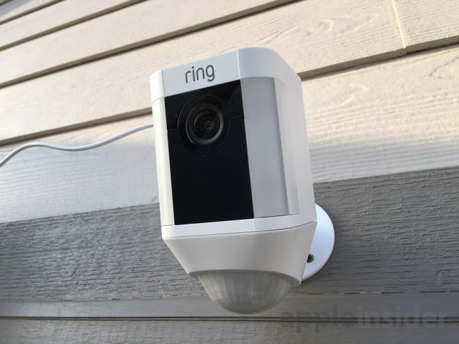 Review Ring S Iphone Connected Spotlight Cam Solar
