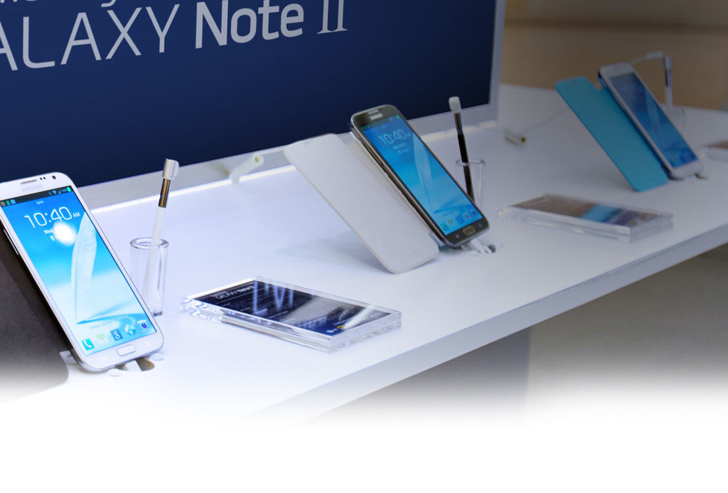 The Samsung Experience store