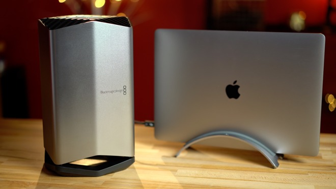 27137 40000 Blackmagic eGPU l - Compared: 2018 i9 MacBook Pro versus iMac 5K performance
