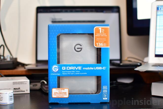 G-DRIVE mobile USB-C 1TB External USB 3.1 Portable Hard Drive ... G-Technology