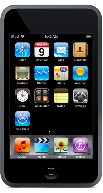 the first-generation iPod touch
