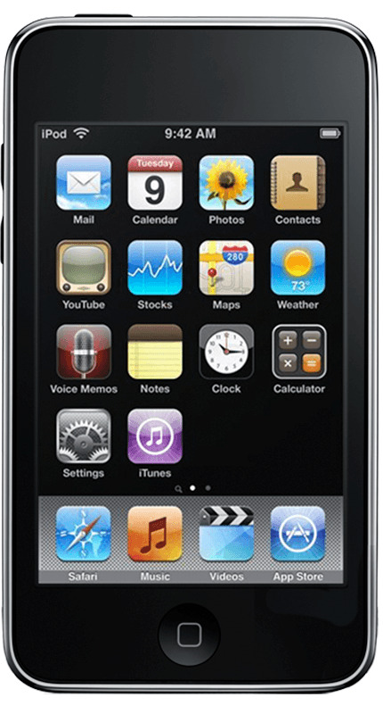 The third generation iPod touch