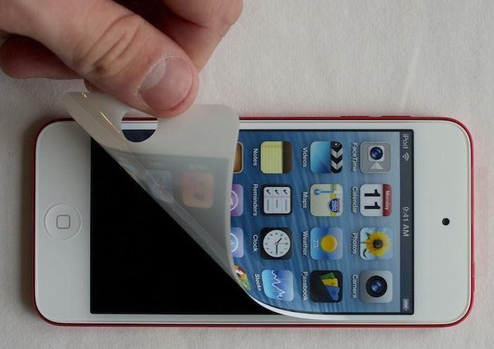 The fifth generation iPod touch