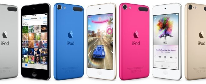 The sixth iPod touch