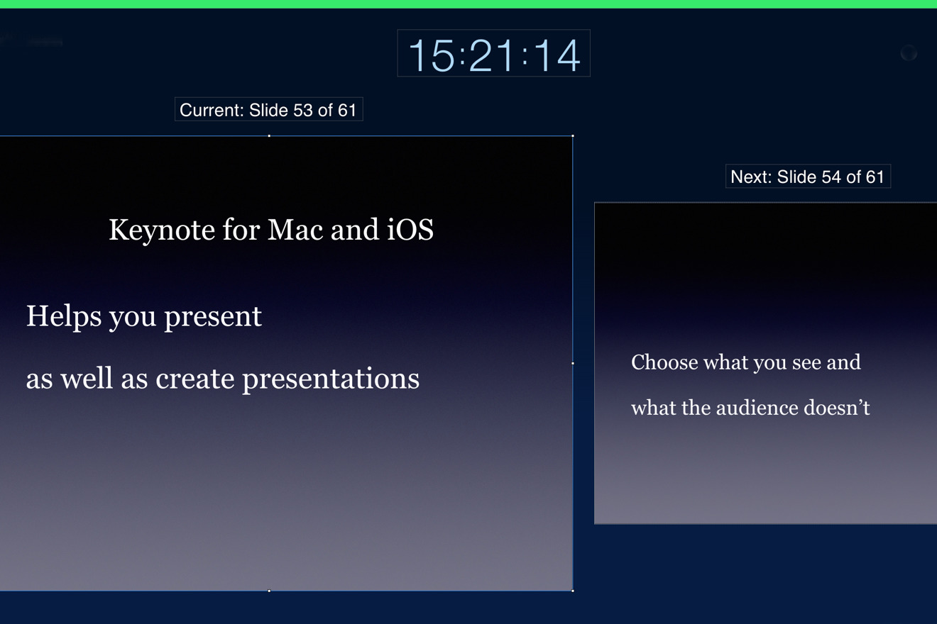 How to use Keynote's hidden presentation features to hold your