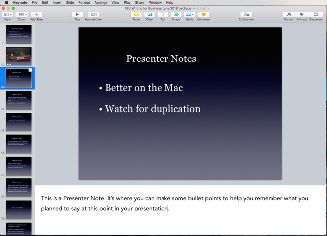 How to use Keynote's hidden presentation features to hold
