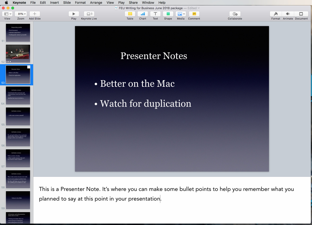 How To Use Keynote S Hidden Presentation Features To Hold Your Audience S Attention Appleinsider