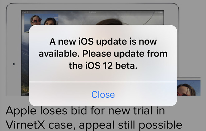 On Thursday A Handful Of Social Media Posts From IOS 12 Beta Testers Both Developers And Members Apples Public Program Detail What Appears To Be