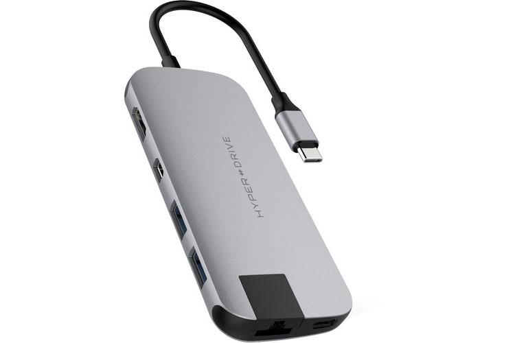 HyperDrive Slim 8 in 1 USB C Hub