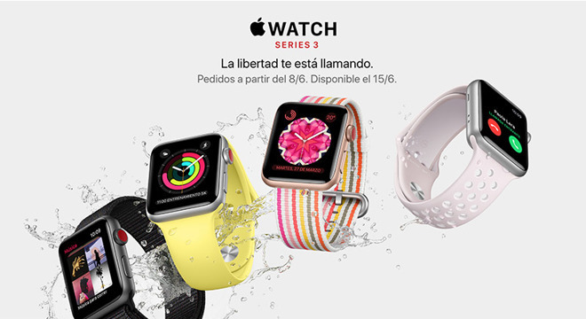 The Apple Watch arrived in Brazil