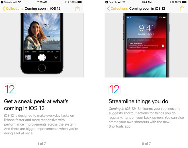 iOS 12 is coming soon, and the iOS 11 Tips app is telling