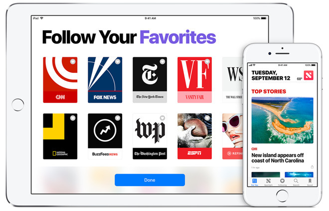 Apple hires former Conde Nast executive to bolster Apple News business