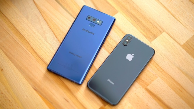 iPhone X versus Samsung Galaxy Note 9: Which phone for