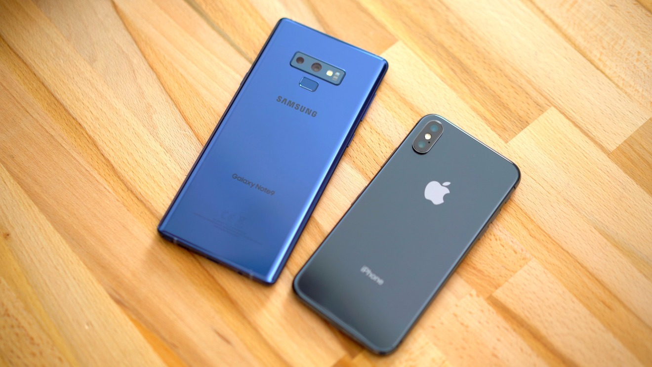 iphone 5s vs samsung a3 2019