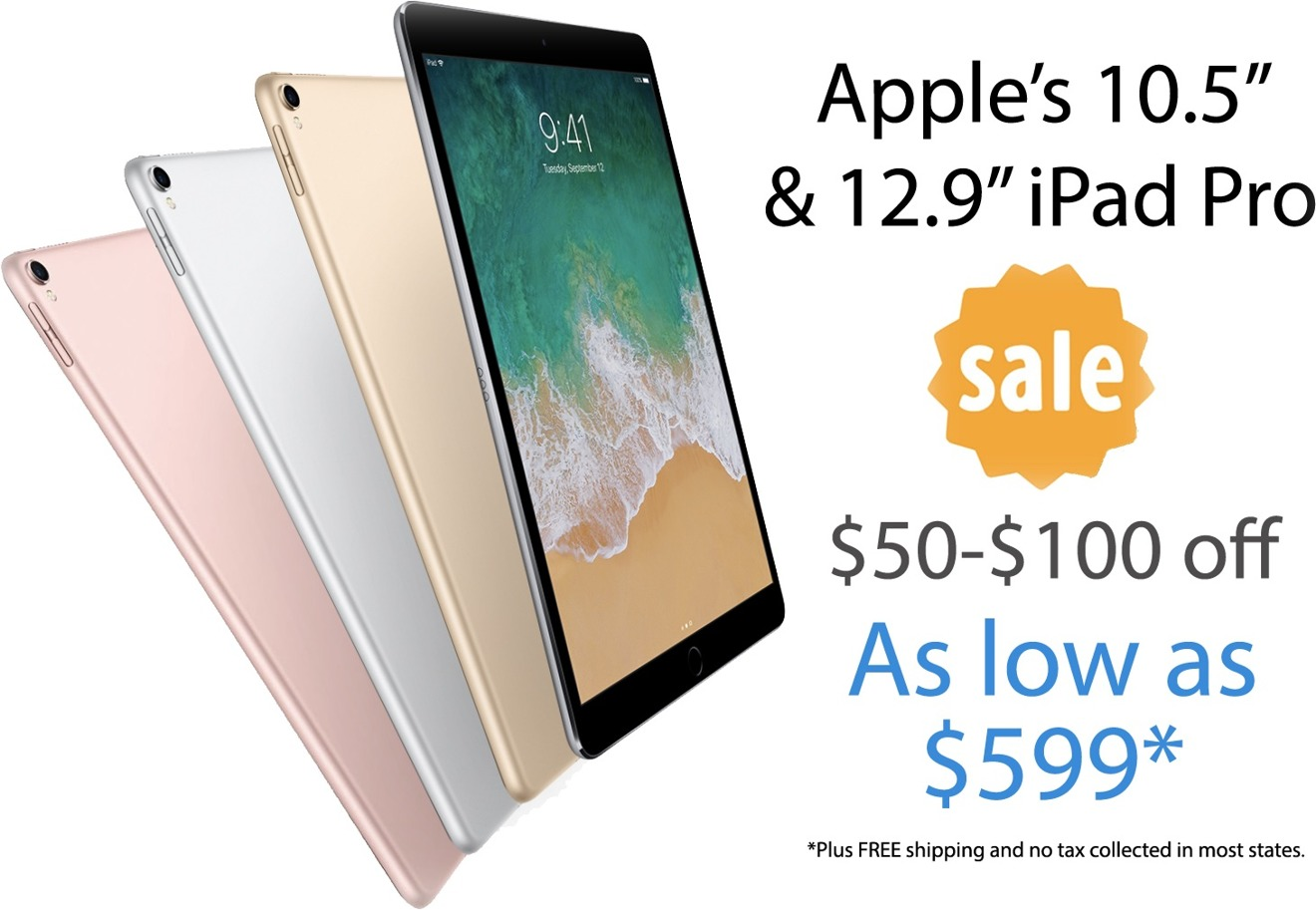 cd92b609945 Apple iPad Pro deals  Save  50 to  100 instantly