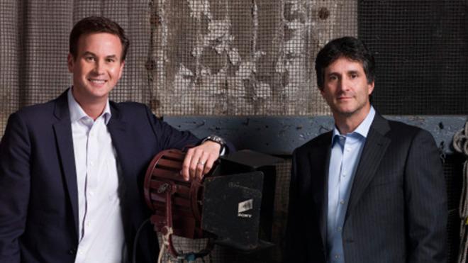 Apple video executives Zack Van Amburg and Jamie Erlicht