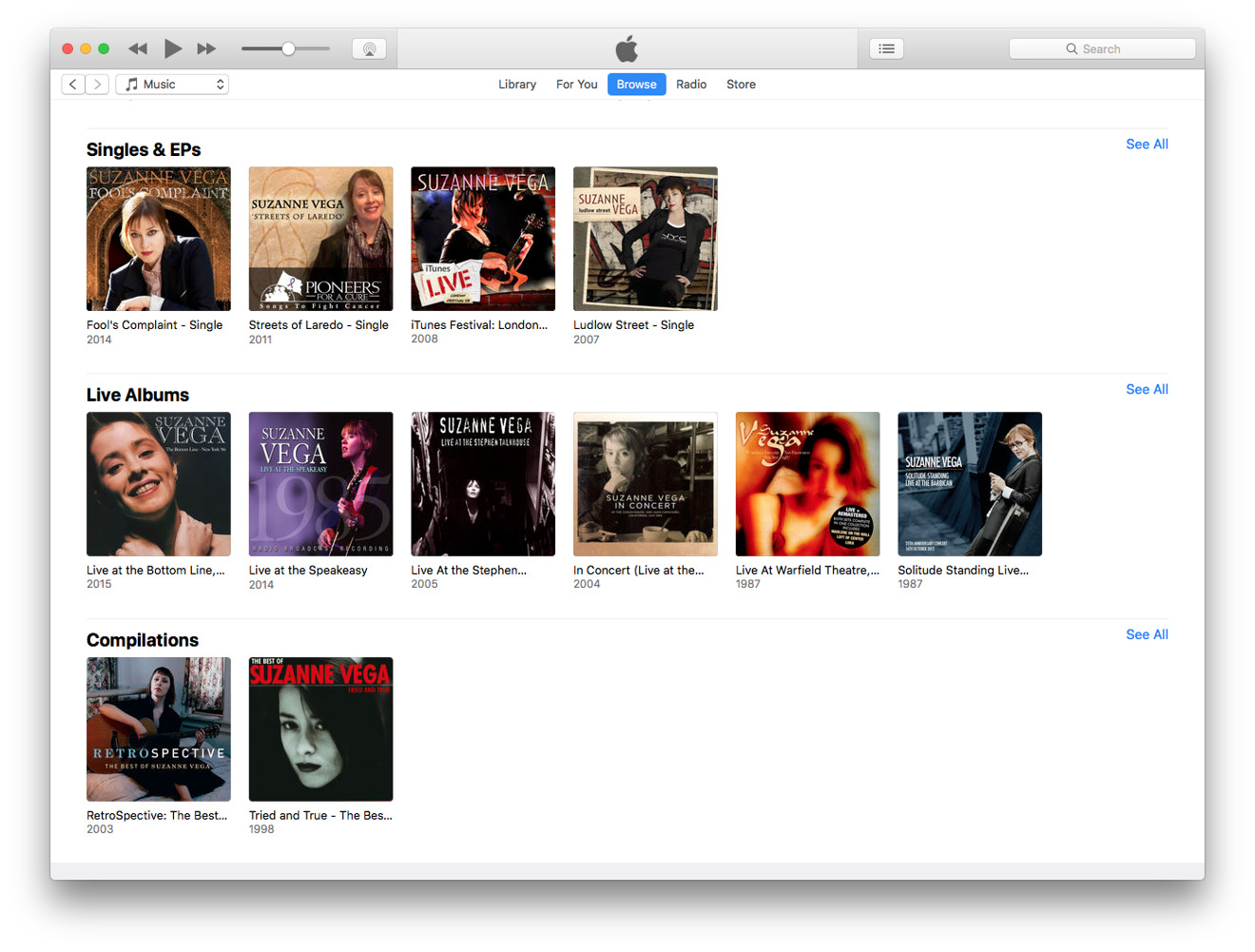 Apple Music macOS