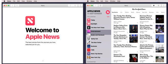 The new News app