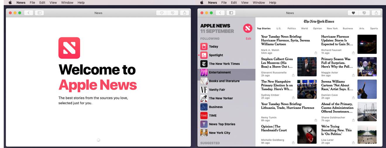 The new News app