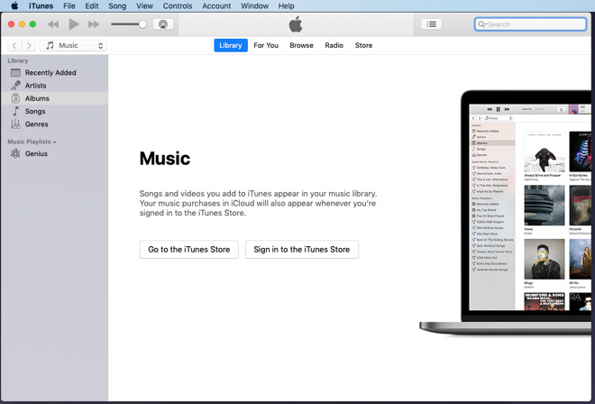 Getting started with playing your own music in iTunes on the Mac