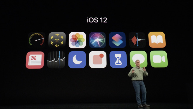 Phil Schiller on iOS 12 at the