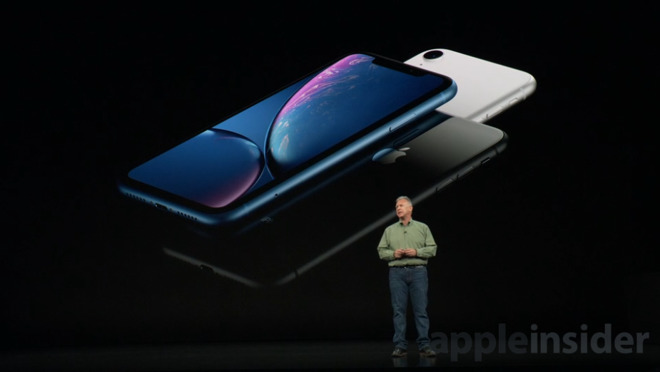 iPhone XR displej