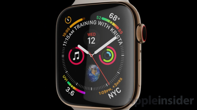 apple watch series 4 is here with full screen oled display slimmer