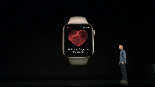 Apple Watch Series 4 is first consumer device to receive FDA
