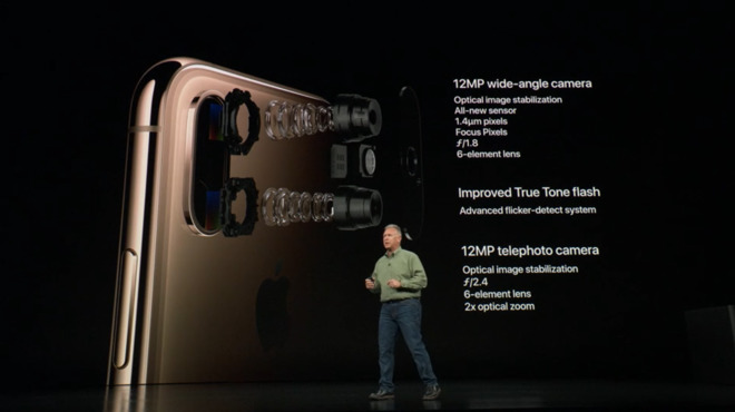 Looking at Apple's new camera system on the iPhone XS and