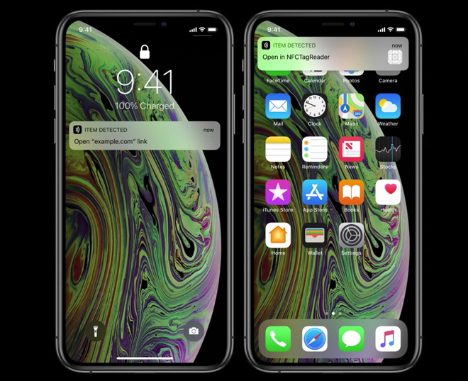 iPhone XS & iPhone XR have improvement to near-field